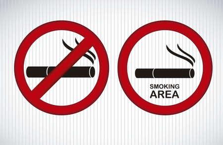 salud publica: Ilustraci�n del icono de la salud, el tabaquismo infograf�a, ilustraci�n vectorial
