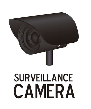 Illustration of security camera, security cameras icons, vector illustration Stock Vector - 16350287