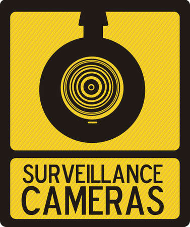 Illustration of security camera, security cameras icons, vector illustration Stock Vector - 16350288