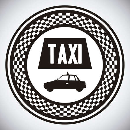 Illustration of taxi icons, transport industry, vector illustration Stock Vector - 16818704