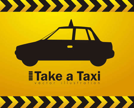 Illustration of taxi icons, transport industry, vector illustration Stock Vector - 16818591