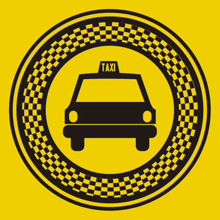Illustration of taxi icons, transport industry, vector illustration Stock Vector - 16818699