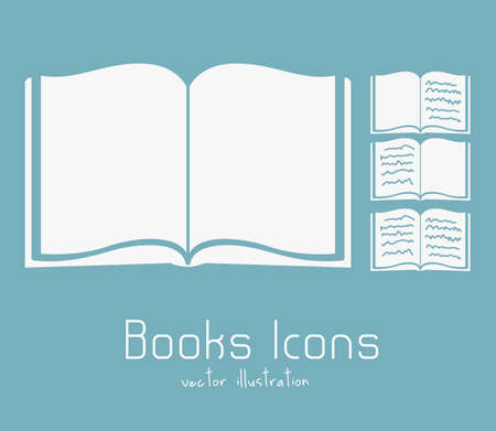 Illustration of Download ebook, with book icons, vector illustration Stock Vector - 16818734