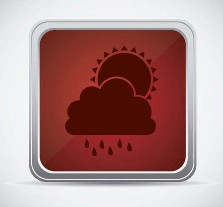 Illustration of icons sun icons of weather and seasons, vector illustration Stock Vector - 16818911