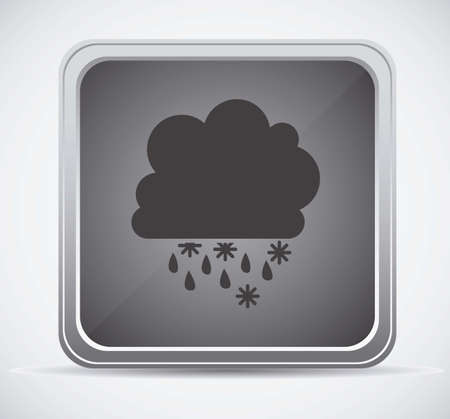Illustration of icons sun icons of weather and seasons, vector illustration Stock Vector - 16818912