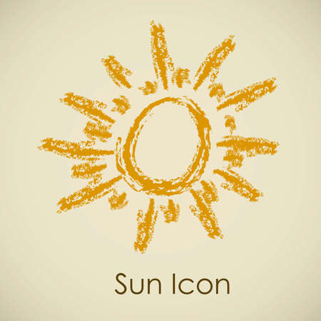 Illustration of icons sun icons of weather and seasons, vector illustration Stock Vector - 16819398