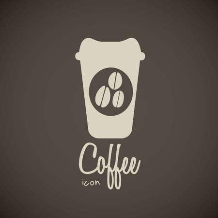 tazas de cafe: ilustración de iconos de café, taza de café, ilustración vectorial