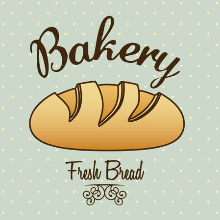 Illustration of classic bread, bakery icon, vector illustration Stock Vector - 17002454