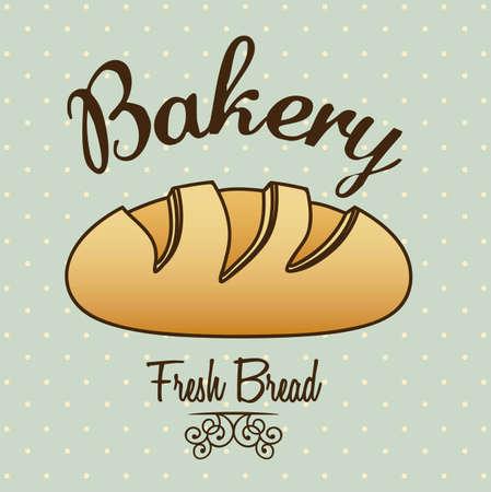 Illustration of classic bread, bakery icon, vector illustration Stock Vector - 17002454