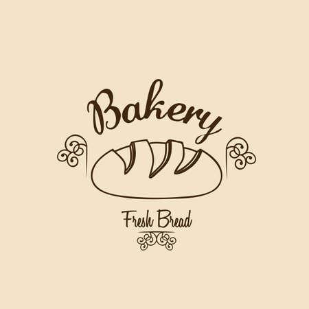 Illustration of classic bread, bakery icon, vector illustration Stock Vector - 17002394