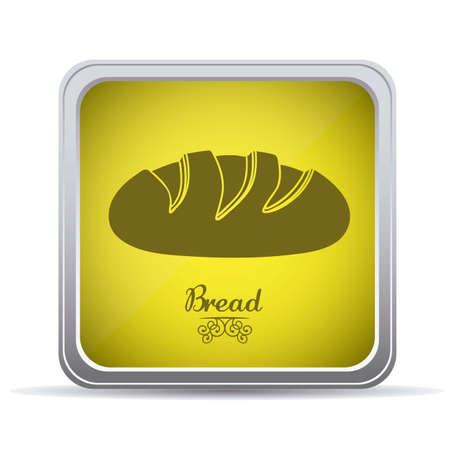 Illustration of classic bread, bakery icon, vector illustration Stock Vector - 17002279