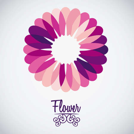 Illustration flowers icons, spring and valentines day, vector illustration Stock Vector - 17002396