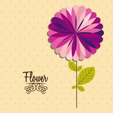 Illustration flowers icons, spring and valentines day, vector illustration Stock Vector - 17002489