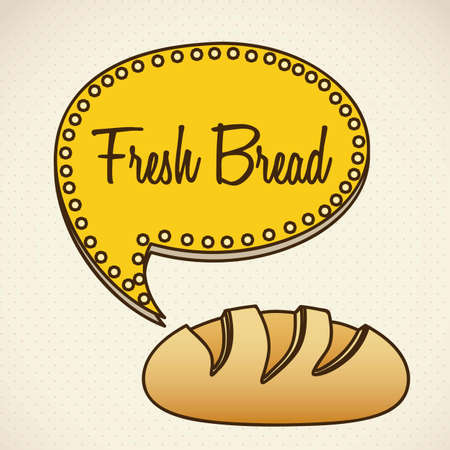 Illustration of classic bread, bakery icon, vector illustration Stock Vector - 17002269