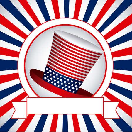 Background Illustration Patt  of  the United States of America, vector illustration Stock Vector - 17352843
