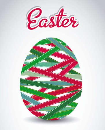 Illustration of the celebration of Easter, vector illustration Stock Vector - 17614703