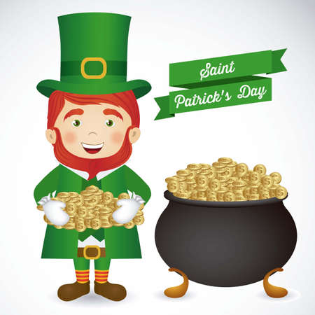 illustration of Saint Patrick's Day, celebration of holiday Stock Vector - 17733970