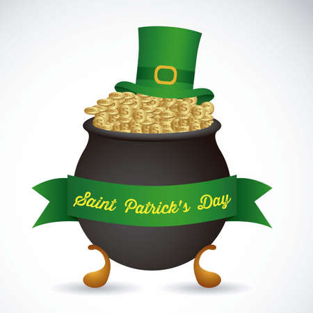 illustration of Saint Patrick's Day, celebration of holiday Stock Vector - 17733922