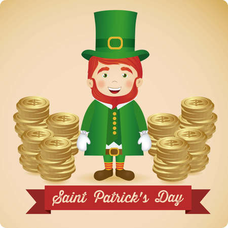 illustration of Saint Patrick's Day, celebration of holiday Stock Vector - 17733934
