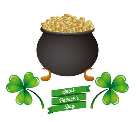illustration of Saint Patrick's Day, celebration of holiday Stock Vector - 17733933