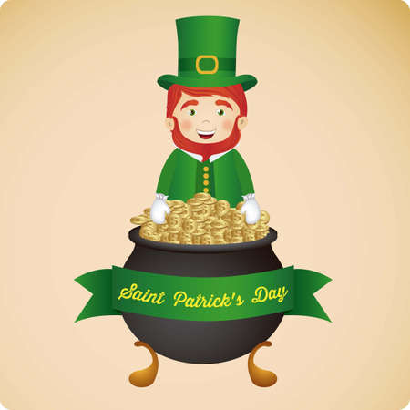 illustration of Saint Patrick's Day, celebration of holiday Stock Vector - 17733925