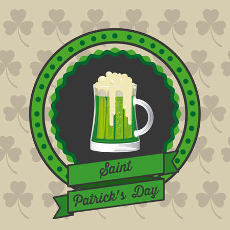 saint patricks: illustration of Saint Patricks Day, celebration of holiday
