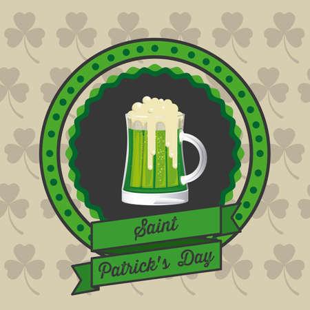 illustration of Saint Patrick's Day, celebration of holiday Stock Vector - 17733846