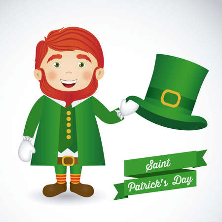 illustration of Saint Patrick's Day, celebration of holiday Stock Vector - 17733732
