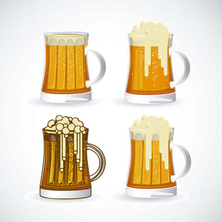 illustration of labels for the beer Stock Vector - 17733936