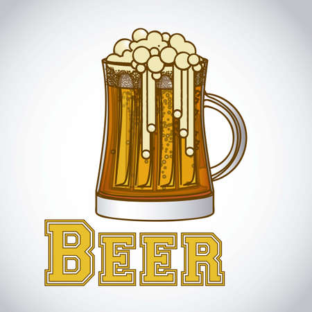 illustration of labels for the beer Stock Vector - 17733899