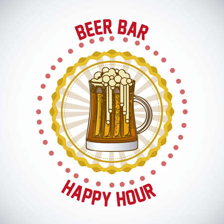 illustration of labels for the beer Stock Vector - 17733902