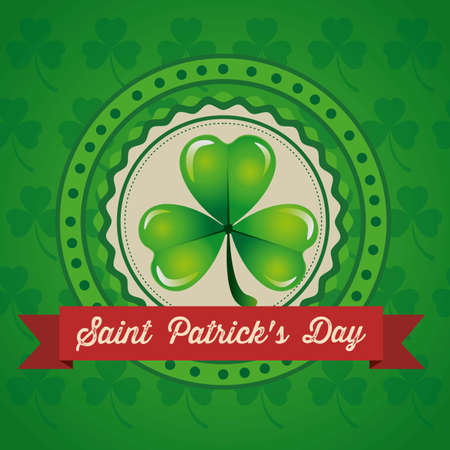 illustration of Saint Patrick's Day, celebration of holiday Stock Vector - 17733743
