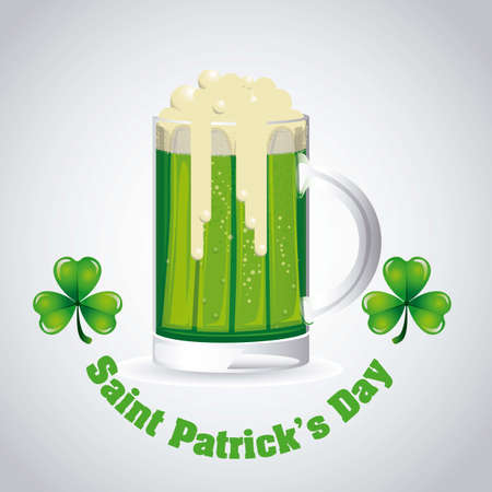alehouse: illustration of Saint Patricks Day, celebration of holiday
