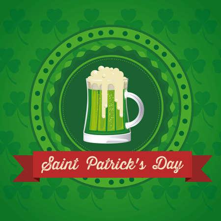 illustration of Saint Patrick's Day, celebration of holiday Stock Vector - 17733840
