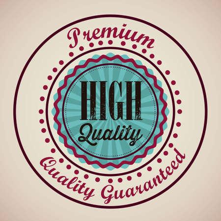 illustration of retro vintage label, Premium Labels Stock Vector - 17733822