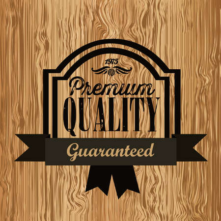 illustration of retro vintage label, Premium Labels Stock Vector - 17733907