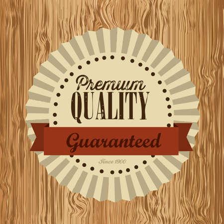 illustration of retro vintage label, Premium Labels Stock Vector - 17733908