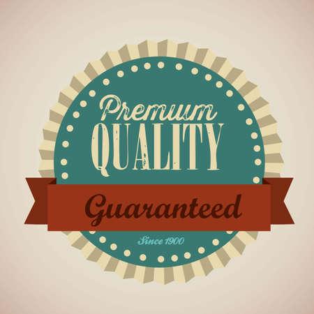 illustration of retro vintage label, Premium Labels Stock Vector - 17733756