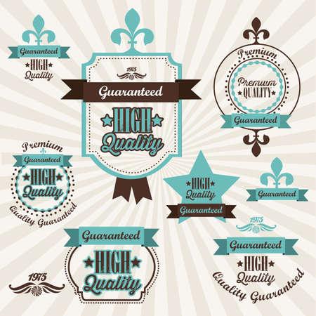 illustration of retro vintage label, Premium Labels Stock Vector - 17733868