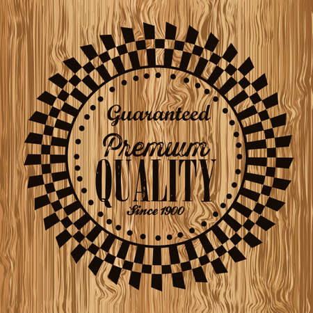 illustration of retro vintage label, Premium Labels Stock Vector - 17733909