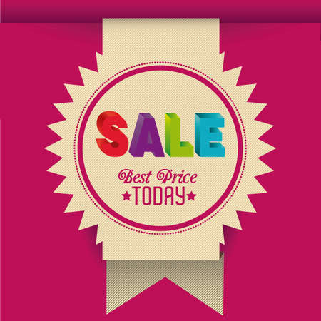 Illustration of Big Sale Icons and Labels, vector illustration Stock Vector - 17786800