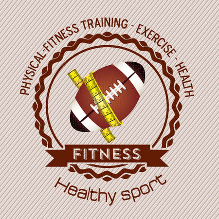 Illustration of Fitness Icons, sports and exercise, caring figure and health, vector illustration Stock Vector - 17787198
