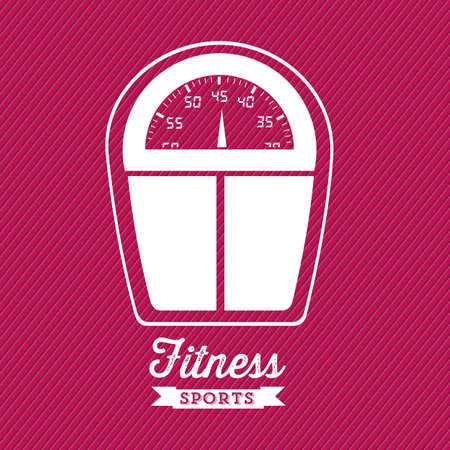 Illustration of Fitness Icons, sports and exercise, caring figure and health, vector illustration Stock Vector - 17786964