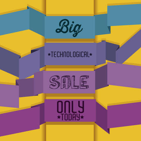 Illustration of Big Sale Icons and Labels, vector illustration Stock Vector - 17786967