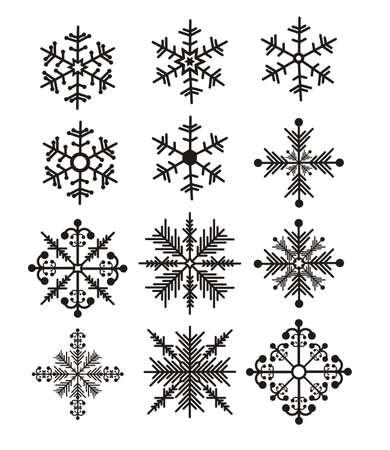 Illustration of snowflake. Illustration of winter illustration Stock Vector - 18074918