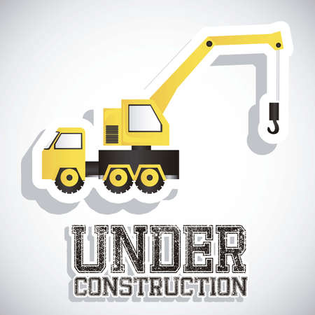 Illustration of under construction, Construction Icons, Site, worker, tools illustration Stock Vector - 18075379