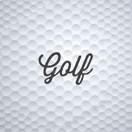 golf flag: Illustration of golf icons, illustrations of sports and games, vector illustration