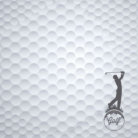hole: Illustration of golf icons, illustrations of sports and games, vector illustration