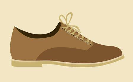 snickers: Illustration of fashion icons, fashion shoes, vector illustration