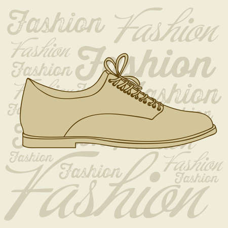 Illustration of fashion icons, fashion shoes, vector illustration Stock Vector - 18334805